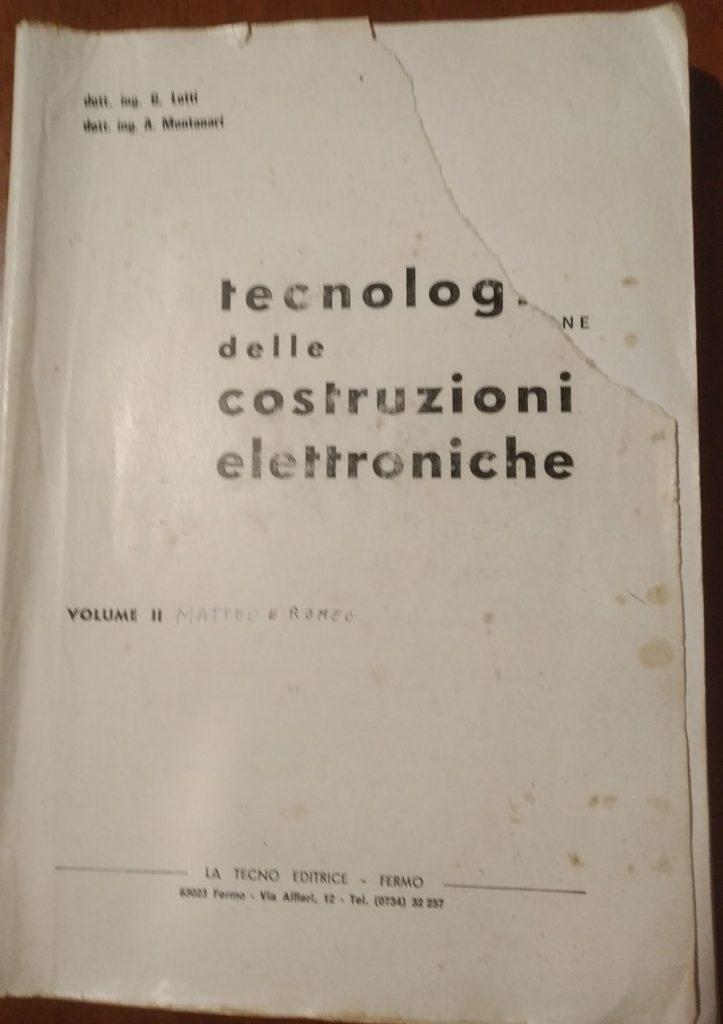 tecnologia delle costruzioni elettroniche volume 2